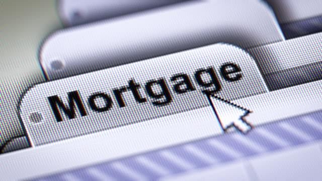 vídeos y material grabado en eventos de stock de mortgage  - hipotecas y préstamos