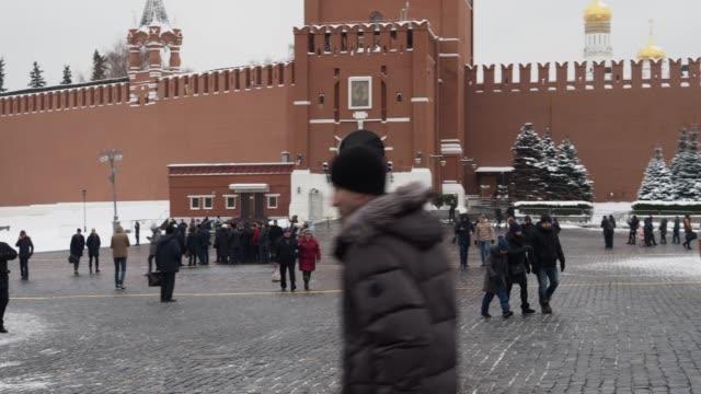 moskva innan jul och nyår - röda torget bildbanksvideor och videomaterial från bakom kulisserna