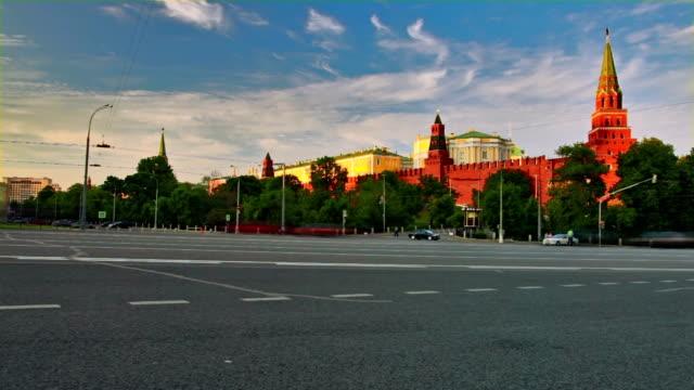 moscow kremlin view - kreml bildbanksvideor och videomaterial från bakom kulisserna