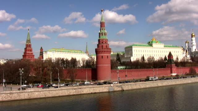 moscow kremlin wall video