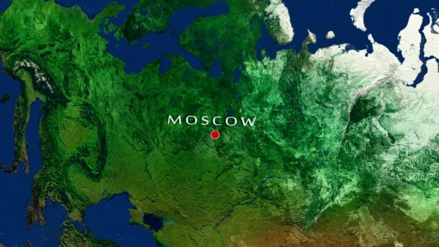 moskva zooma in - moskva bildbanksvideor och videomaterial från bakom kulisserna
