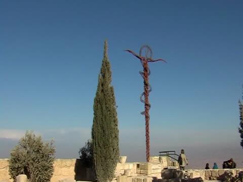 moses monument - pilgrimsfärd bildbanksvideor och videomaterial från bakom kulisserna