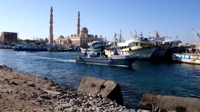 Mosque In Hurghada video