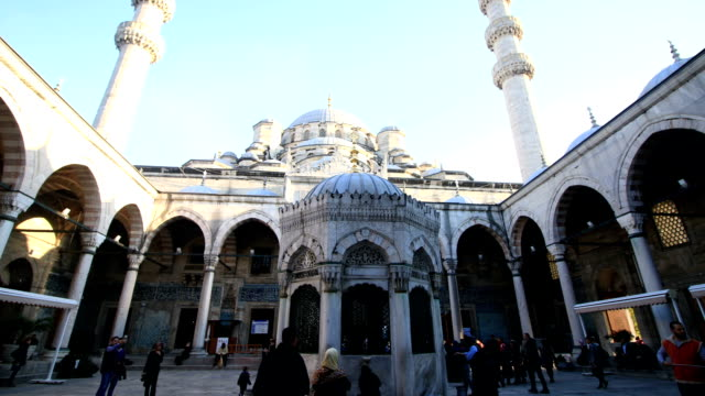 Mosque Istanbul Hyperlapse video