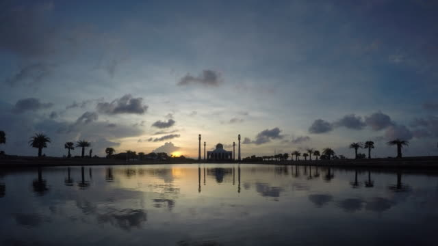 mosque time lapse - ramadan stock videos and b-roll footage