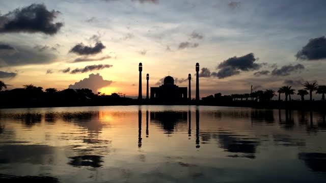 Mesquita intervalo de tempo - vídeo