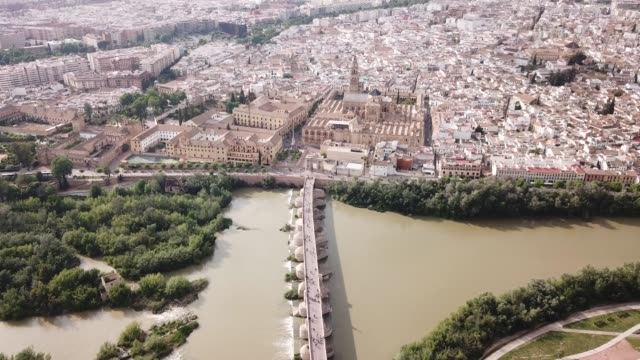 Mosque-Cathedral of Cordoba and Roman Bridge over the Guadalquivir
