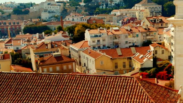 mosteiro de sao vicente de fora, lisbon, portugal - lisbona video stock e b–roll