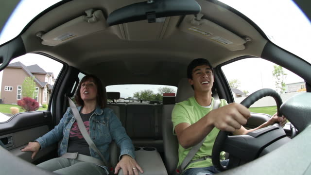 Mother afraid of teenage son's driving