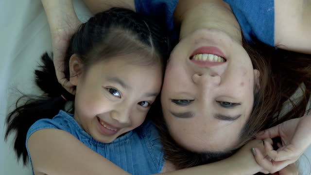 Mother and daughter having time together video