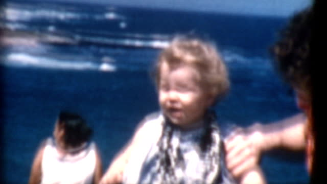 Mother and Daughter Hawaii 1950's video