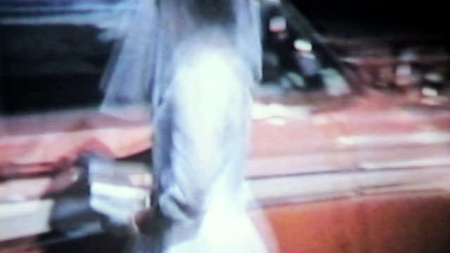 Mother And Daughter Leaving For First Communion-1958 Vintage 8mm film video