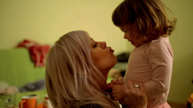 Mother and daughter video