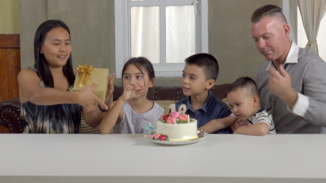 Mother Give Gift On Birthday video