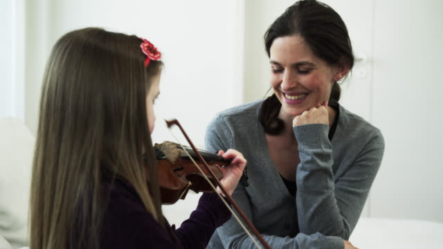 Mother listening child video