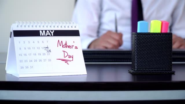 mors dag - speciella dag - calendar workout bildbanksvideor och videomaterial från bakom kulisserna