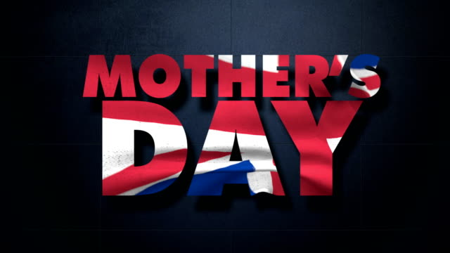 Mother's Day with British flag