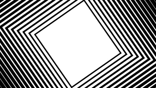 Motion background with moving geometric shapes