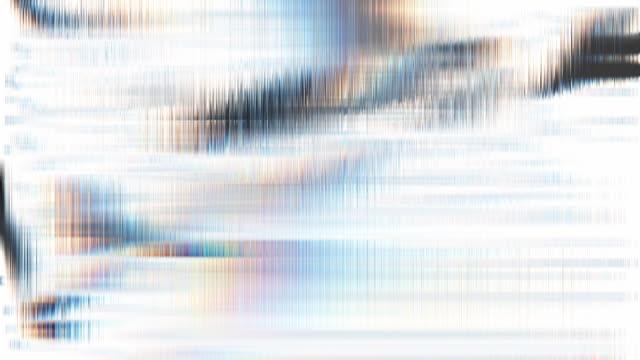 vídeos de stock, filmes e b-roll de fundo do borrão de movimento. linhas finas do grunge movente de looping abstrata. imitação da textura de vidro - organic shapes