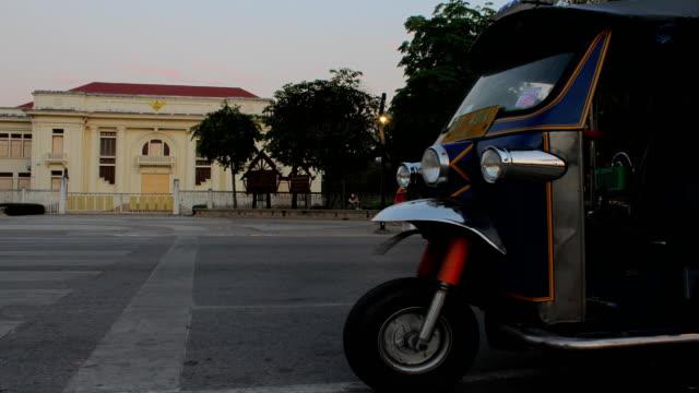 Motion blur Tuk Tuk, Bangkok, Thailand