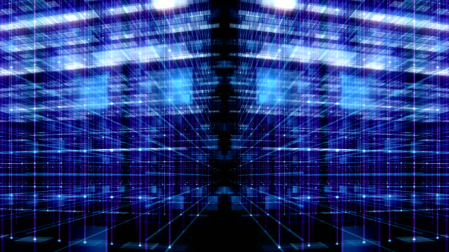 Motion Graphic Technology Animation Background video
