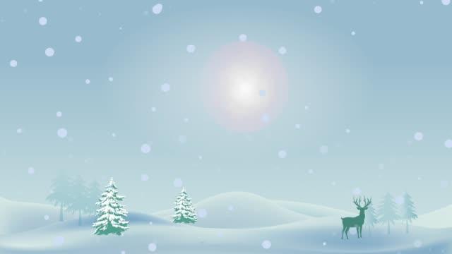 motion grafik mit weihnachten und frohes neues jahr-hintergrund - weihnachtskarte stock-videos und b-roll-filmmaterial