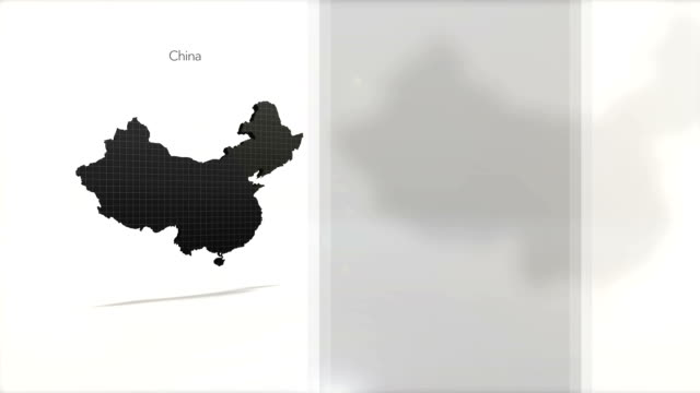 Motion Graphics Country Information Infographic Background