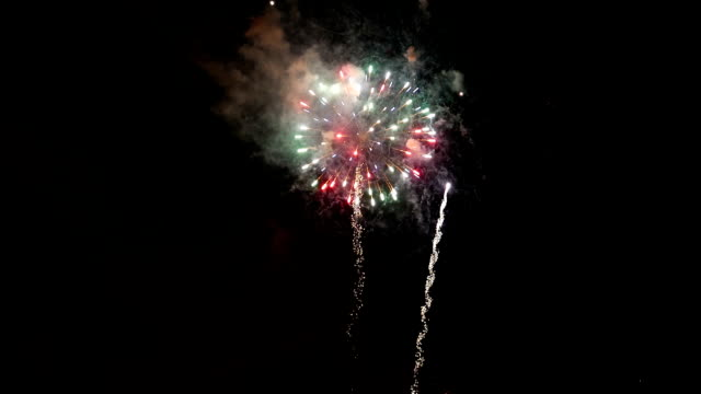 Motion of firework display on Canada day for celebrating Canada 150 years Motion of firework display on Canada day for celebrating Canada 150 years canada day videos stock videos & royalty-free footage