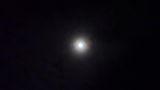 Motion of full moon.