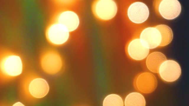 motion of light bokeh blink abstract blur background. 4k footage - soft focus video stock e b–roll