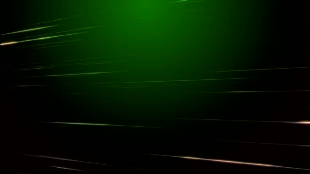 Motion Streaks Green Background Loopable video