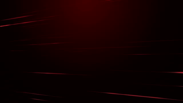 Motion Streaks Red Background Loopable video
