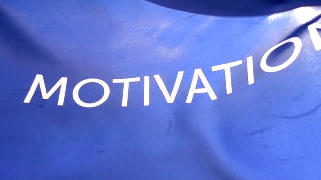 Motivation Flag High Detail video