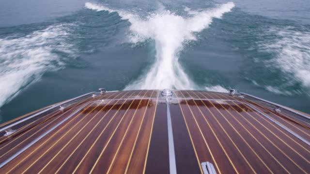 Motor boat video