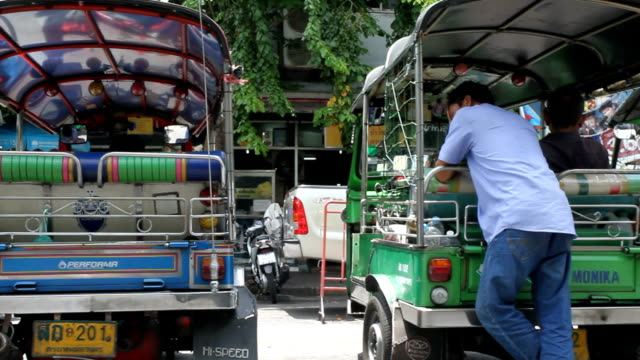 motor tricycle (TukTuk) video