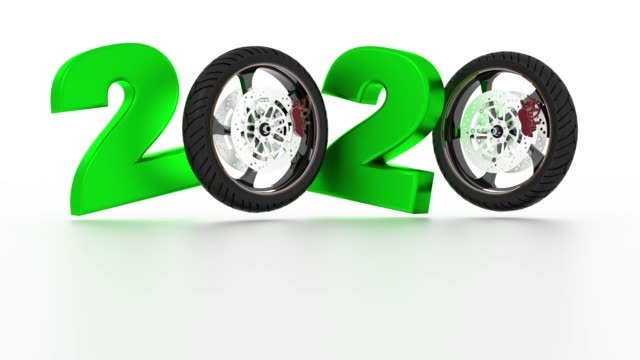 Motorbike Wheels 2020 design in Infinite Rotation