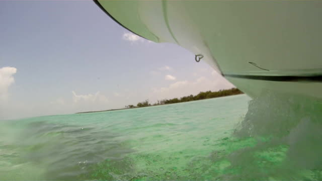 Motorboat Point of View video