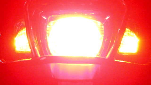 motorcycle signal lights video