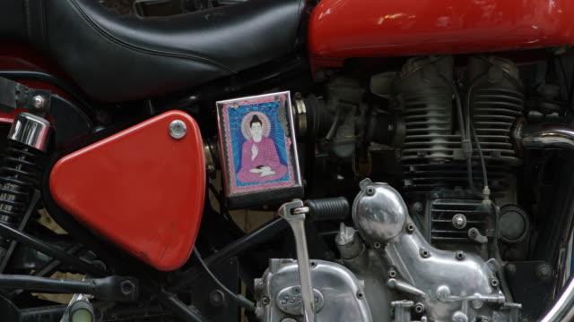 オートバイのアートワーク。 - 家系図点の映像素材/bロール