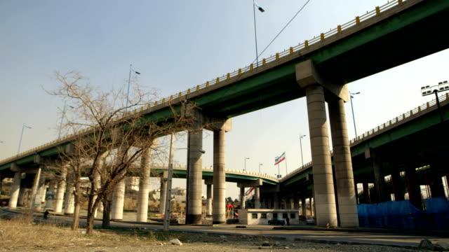 在德黑蘭的摩托車 - 德黑蘭 個影片檔及 b 捲影像