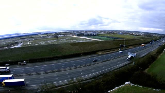 M1 Motorway in UK video