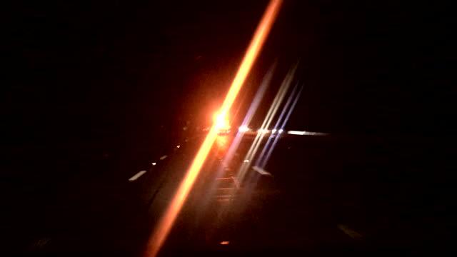 Motorway Lights at Night video