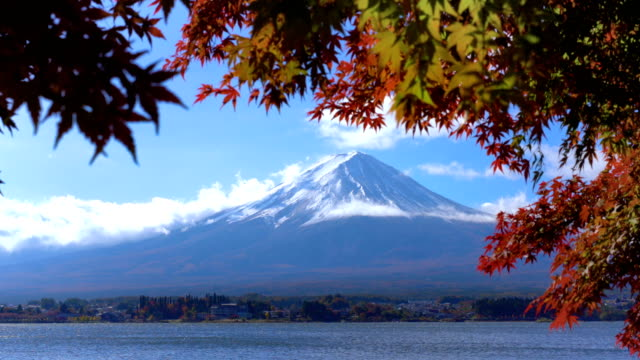 Mount Fuji in Autumn Color, Japan