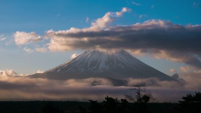 Mount Fuji ,Timelapse