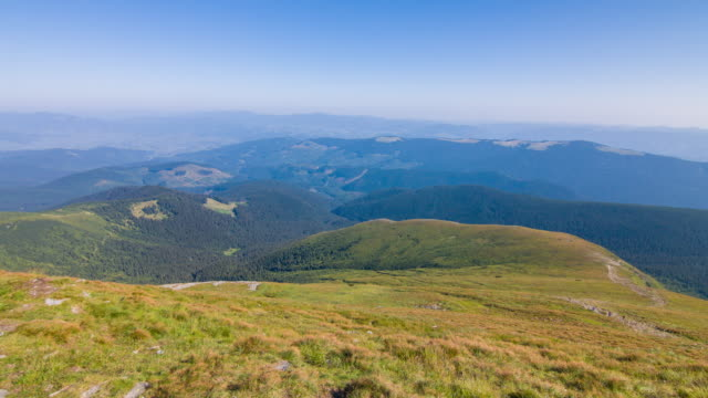 Mount Hoverla  is the highest mountain in Ukraine and part of the Carpathian Mountains. Landscape video. video