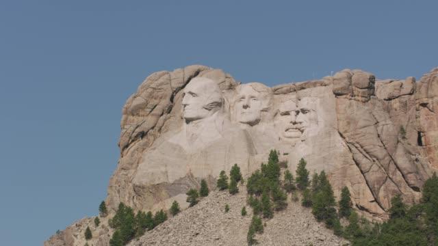 vídeos y material grabado en eventos de stock de monumento nacional mount rushmore, dakota del sur - mount rushmore