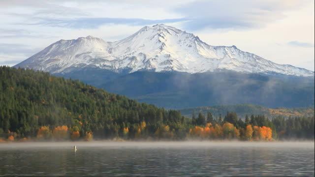Mount Shasta Mount Shasta riverbank stock videos & royalty-free footage
