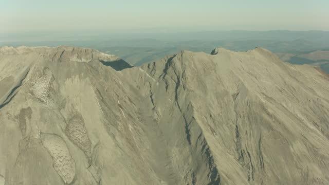 Mount St Helens Oregan USA Aerial video