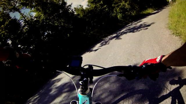 Mountain Bike Video: Long Descent on the Road video