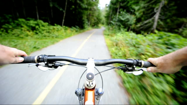Mountain Biking POV video